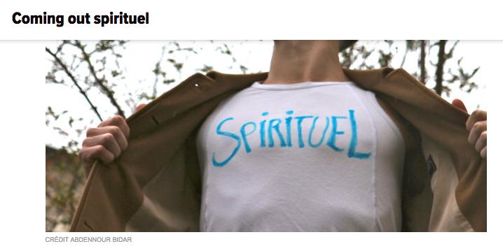 coming out spirituel et la spiritualité