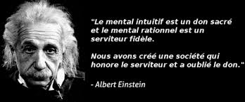 albert einstein intuition mental