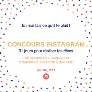 concours instagram lucie diez