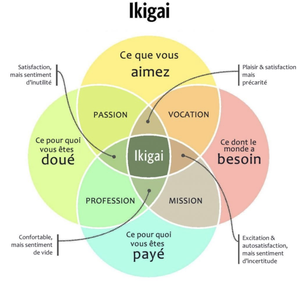 comment trouver son ikigaï