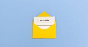 comment écrire newsletter