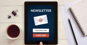 pourquoi avoir une newsletter